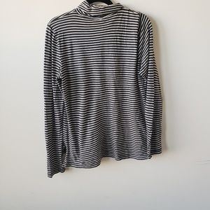 Madewell women's striped turtleneck sweater L